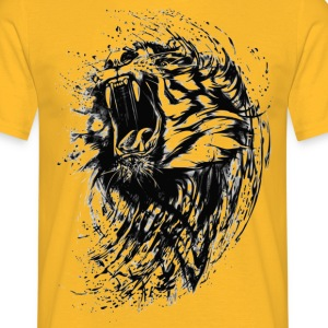 brusande tiger - T-shirt herr