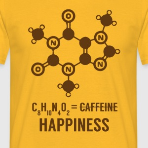 Periodensystem: C8 H10 N4 O2 = Happiness - Männer T-Shirt