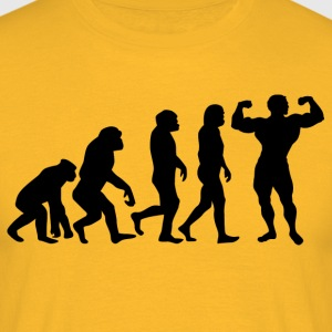 ++ ++ BODYBUILDING EVOLUTION - Men's T-Shirt