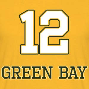 Green_Bay - T-skjorte for menn
