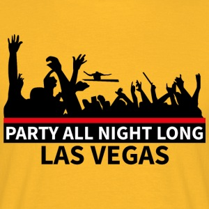 LAS VEGAS - Party - Mannen T-shirt