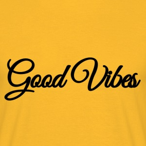 Gode ​​Vibes - Herre-T-shirt