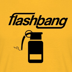 Flash-Bang Log - Ohne Donation - Männer T-Shirt