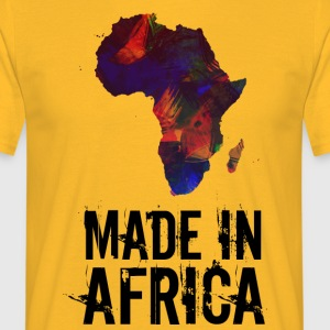 Made In Africa / Afrika - T-skjorte for menn