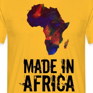 Made In Africa / Afrika - Männer T-Shirt