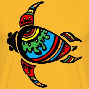 colorful turtle - Men's T-Shirt