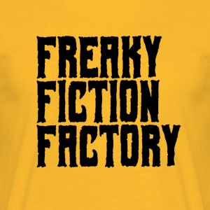 Freaky Fiction usine Offical Logo Noir - T-shirt Homme