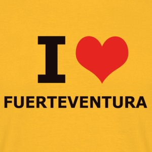 I LOVE FUERTEVENTURA - T-skjorte for menn
