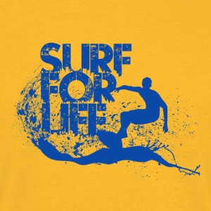 Surf for Life - Men's T-Shirt