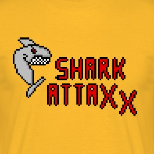 pixel Shark - Men's T-Shirt