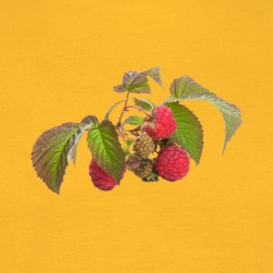 Raspberry fruit Organic Fruits - Men's T-Shirt