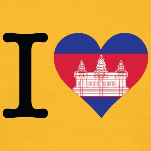 I Love Cambodia - Men's T-Shirt