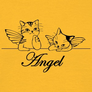 Isle of Angel Cats - Mannen T-shirt