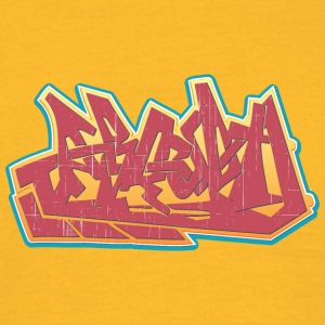 Cool gatukonst graffiti - T-shirt herr
