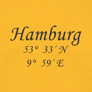 Coordinates Hamburg - Men's T-Shirt