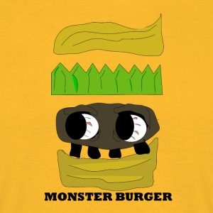 MONSTER BURGER - T-shirt herr