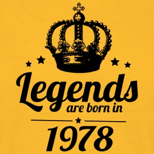 Legends 1978 - Men's T-Shirt