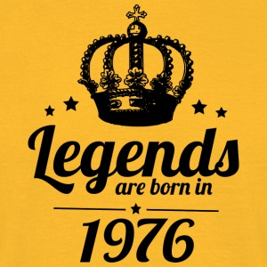 Legends 1976 - Herre-T-shirt