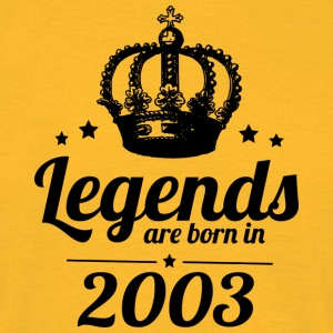 Legends 2003 - Herre-T-shirt