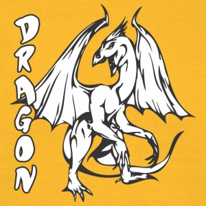 standing dragon - Men's T-Shirt