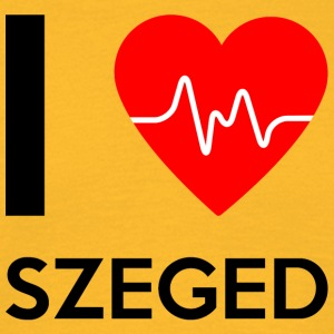 I Love Szeged - Jeg elsker Szeged - T-skjorte for menn