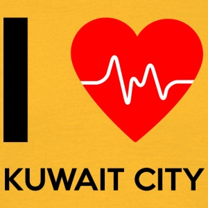 I Love Kuwait City - I love Kuwait City - Men's T-Shirt