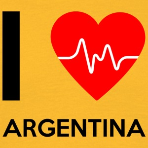 J'aime l'Argentine - I Love Argentine - T-shirt Homme