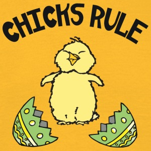 Easter Chicks Rule - Men's T-Shirt