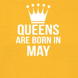 queens are born in may - Men's T-Shirt