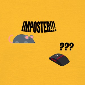 Usted impostor! - Camiseta hombre