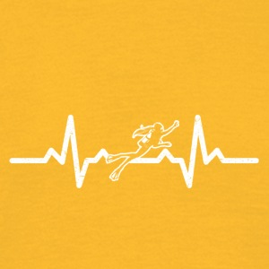 My heart beats for diving - Men's T-Shirt