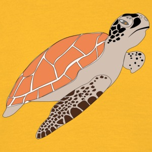 Serious turtle - Men's T-Shirt