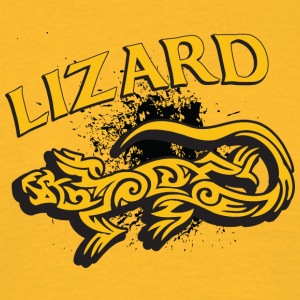 Cool tribal lizard - Mannen T-shirt
