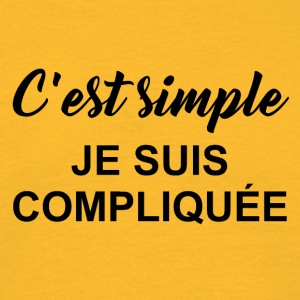 c est simple - T-shirt Homme