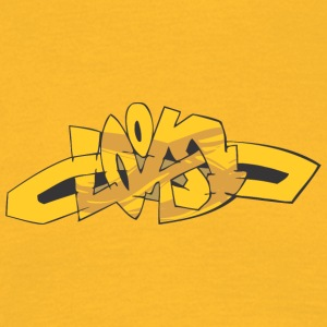 loks graffiti - Herre-T-shirt