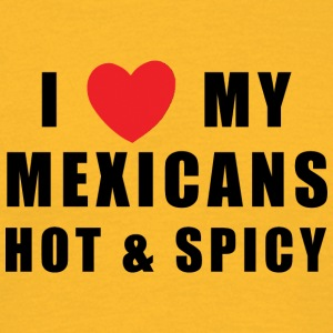 Mexicanske Hot & Spicy - Herre-T-shirt
