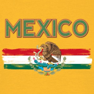 MEXICO Flag - T-skjorte for menn