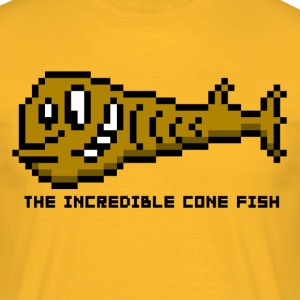 Cone Fish - Men's T-Shirt