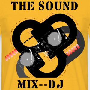 THE SOUND MIX - Herre-T-shirt