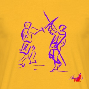 PURPLE SWORD - Men's T-Shirt