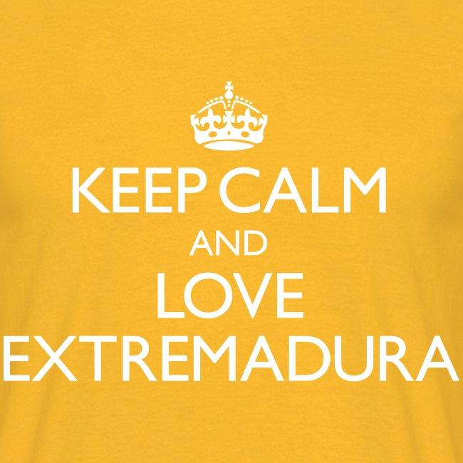 keepcalm and love Extremadura