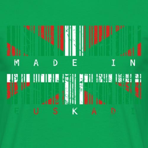 Made in Euskadi Color Grunge - Camiseta hombre