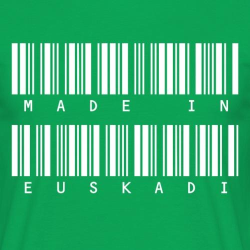 Made in Euskadi White Clean - Camiseta hombre