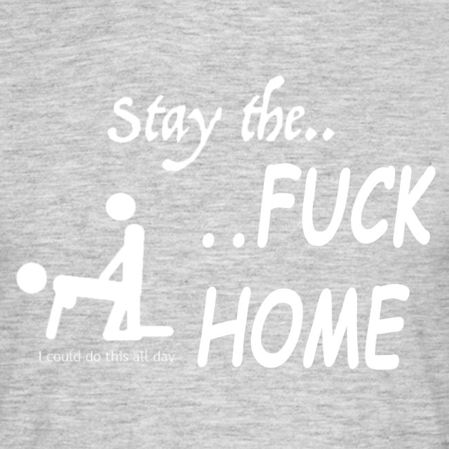Stay the fuck home - logo
