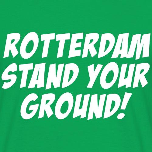 STAND YOUR GROUND - Mannen T-shirt