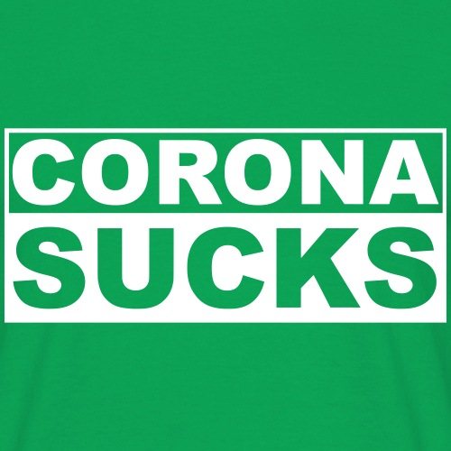 CORONA SUCKS - Mannen T-shirt