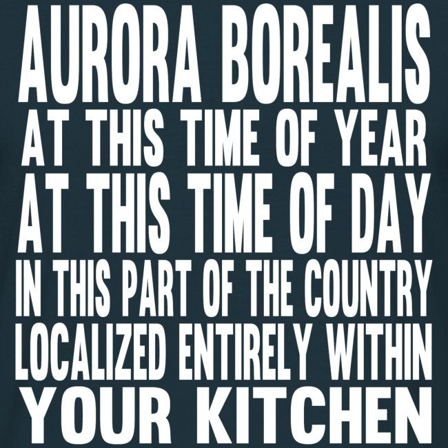 Aurora Borealis White