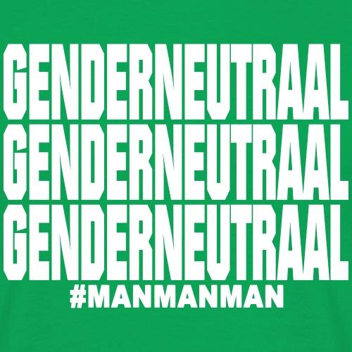 Genderneutraal - Mannen T-shirt