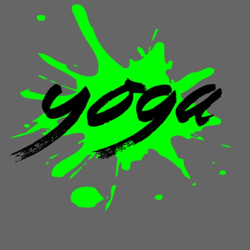 yoga verde yogi namaste pace amore arte hippie - Maglietta da uomo