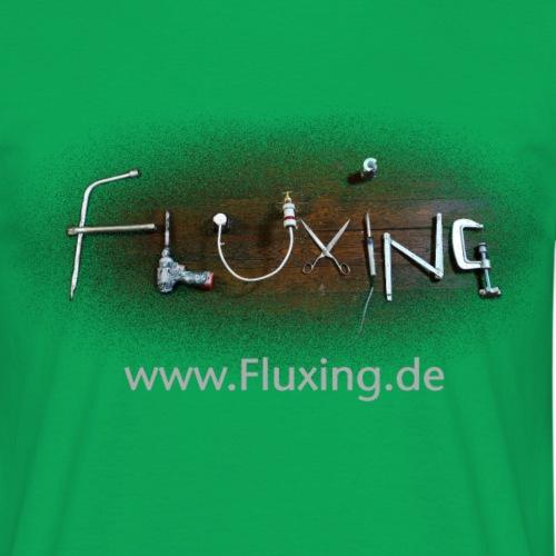 Fluxing de Logo - Men's T-Shirt